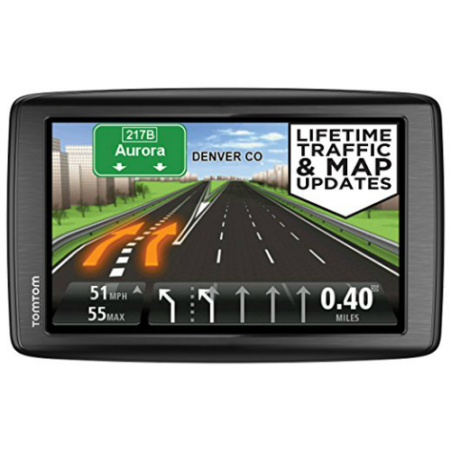 "Refurbished TomTom GO 600 6"" Automotive GPS with Lifetime Maps"