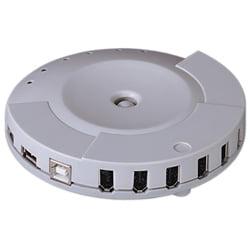 ADP3563 IEEE-1394 FireWire 6 Port & USB 4 Port Combo Hub