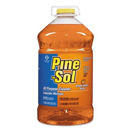 Pine Sol All Purpose Cleaner (Pine-Sol All-Purpose Cleaner, Orange, 144oz Bottle )