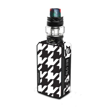 Houndstooth Wrap - Skin for VooPoo DRAG 2 - Houndstooth | Protective, Durable, and Unique Vinyl Decal wrap cover | Easy To Apply, Remove, and Change Styles