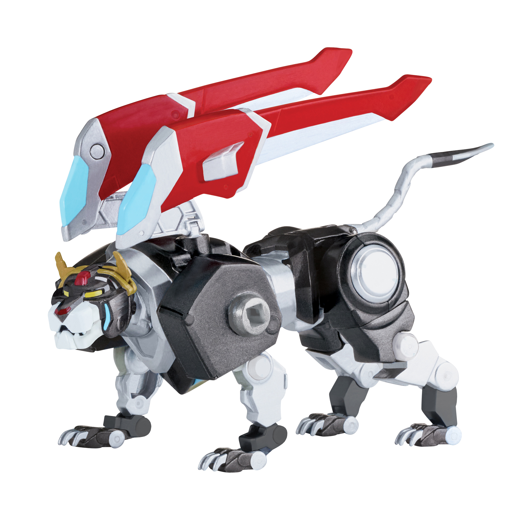 Voltron Die Cast Black Lion by Playmates Toys Inc.