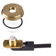 """PCTEL Maxrad - 3/8""""-3/4"""" Hole Thick Plate Brass Mount Antenna"""