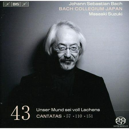 Bach Collegium Japan - Bach: Cantatas, Vol. 43: Unser Mund Sei Voll Lachens - Cantatas 57, 110, 151