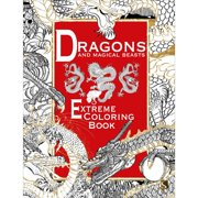 Sterling Publishing Extreme Coloring Dragons & Magcl Bs