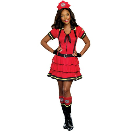 Fire Fighter Women's Halloween Costume - Lois Lane Costume Ideas