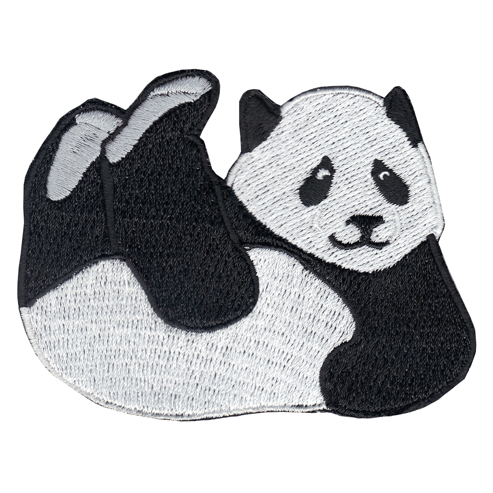 Panda Iron On Applique Patch