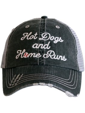 Katydid Hot Dogs and Home Runs Trucker Hat