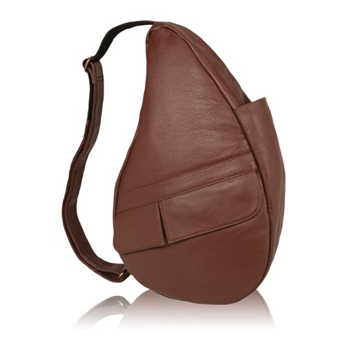 AmeriBag Medium Leather Healthy Back Bag - Chestnut Medium Leather Healthy Back Bag