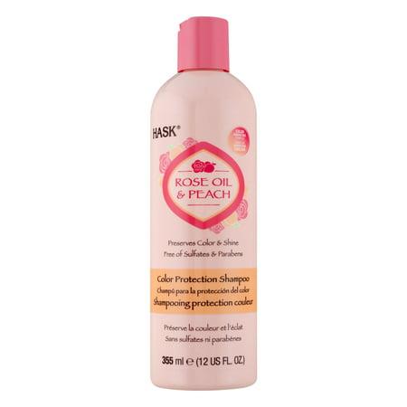 Avon Naturals Peach (Hask Color Protection Shampoo Rose Oil & Peach, 355.0 ML)