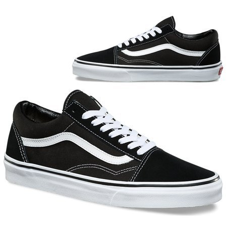Vans Old Skool Black/White Classics Skate Shoe Unisex (Back To The Old Skool Club Classics)