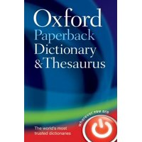 Oxford Paperback Dictionary & Thesaurus (Paperback)