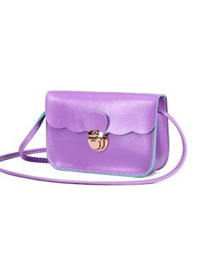 454d721d97a1 Product Image DZT1968® Women Handbag Shoulder Bags Tote Purse Leather Messenger  Hobo Bag Purple