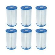 Bestway Pool Filter Pump Replacement Cartridge Type IV / B (6-Pack) | 58095