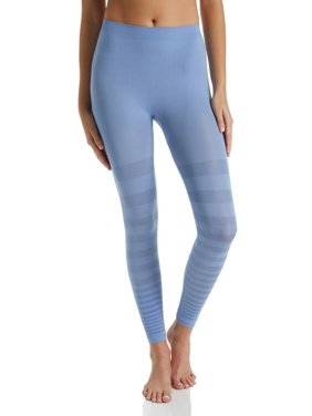 Women's Rhonda Shear 1385 Seamless Tonal Striped Shaping Legging