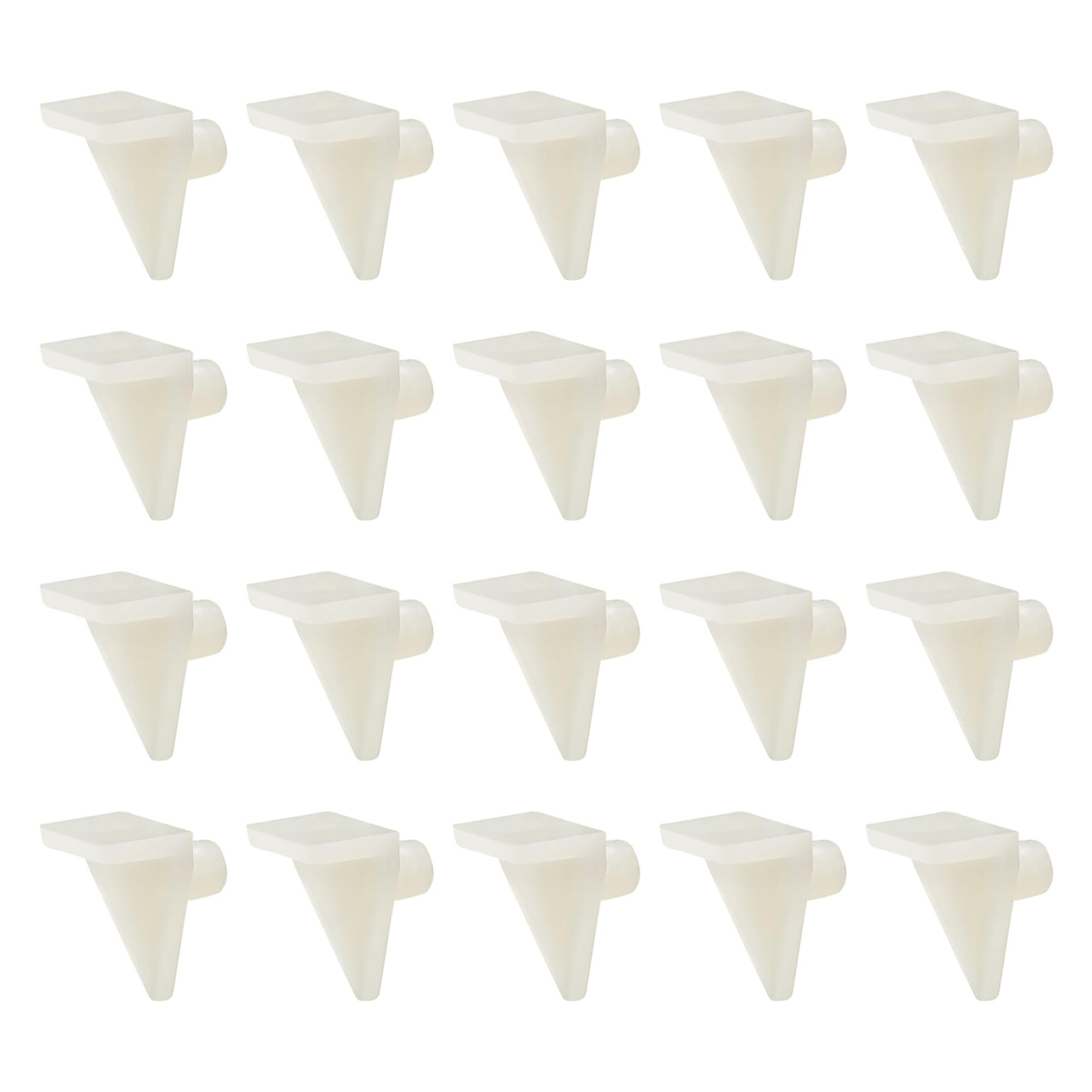 Plastic Shelf Support Pegs 5mm Cabinet Shelf Clips Shelf Bracket Hoder Peg For Kitchen Furniture Book Shelves 20pcs Walmart Com Walmart Com