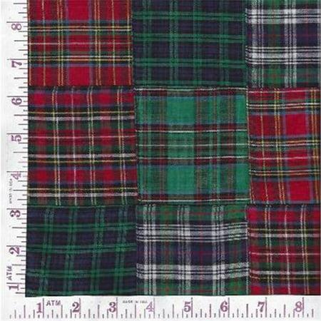 Textile Creations GA-015 Grannys Attic, 3 x 3 inch Classic Tartans