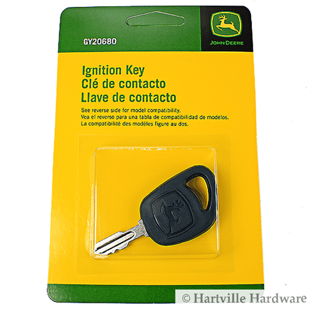 John Deere Key - Genuine John Deere Gy20680 Ignition Key