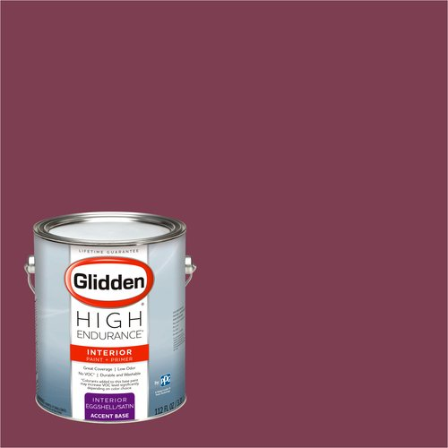 Glidden High Endurance, Interior Paint and Primer, Bold Sangria, #54RR 09/276