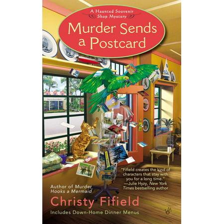 Murder Sends a Postcard - eBook Souvenir Postcard Folder