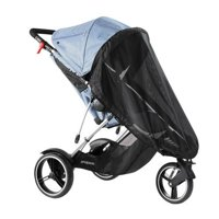 Phil & Teds Dash Sun Cover, Single, Stroller Cover for Sun and Bugs