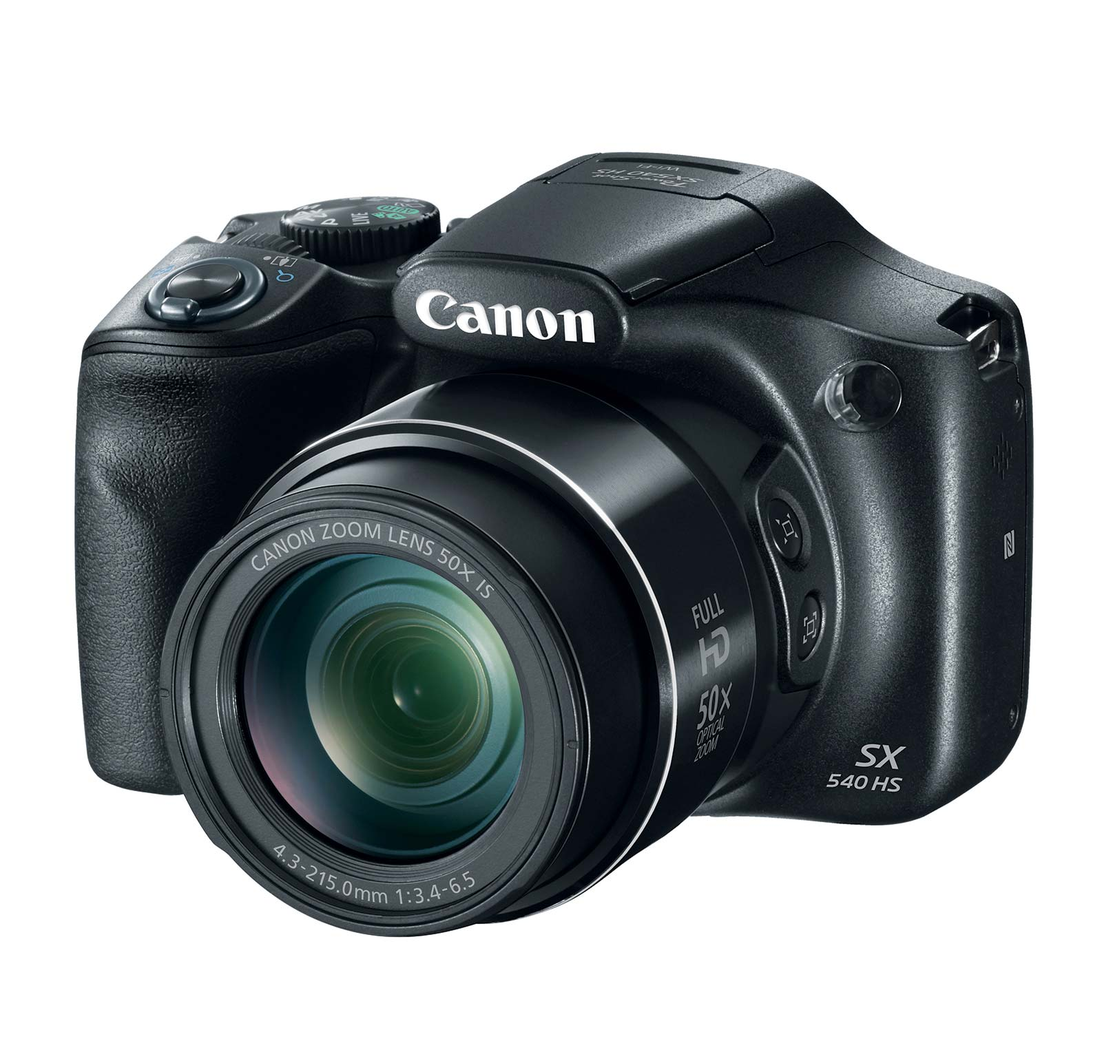 Canon Black PowerShot SX540 HS Digital Camera with 20.3 Megapixels and 50x Optical Zoom