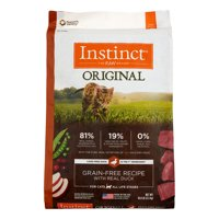 Instinct Original Grain-Free Recipe with Real Duck Natural Dry Cat Food by Nature's Variety, 10 lb. Bag