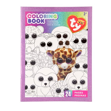 ty beanie boo beanie boo coloring book - Beanie Boo Coloring Pages