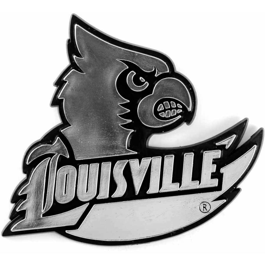 NCAA Louisville Chrome Emblem