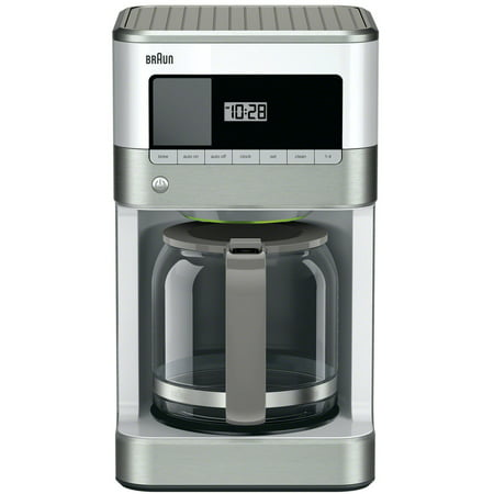 Braun BrewSense 12-Cup Drip Coffee Maker, White