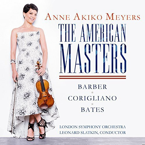 Bates   Barber   Corigliano   Meyers   Leonard American Masters   Violin Concerto  ... by