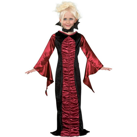 Gothic Vampire Childs Costume for $<!---->