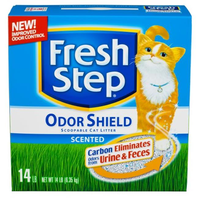 Fresh Step 044600030395 Scoopable Clumping Scented Cat Litter - 14 lbs.
