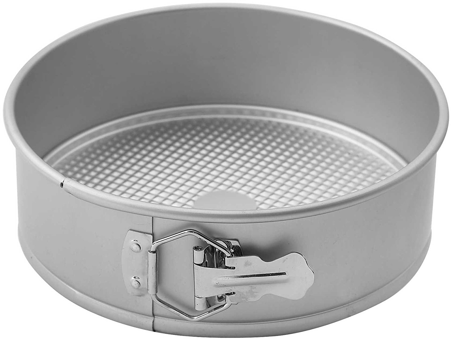 AASP-093 Springform Pan with Detachable Bottom, 9-Inch, Anodized Aluminum, Deluxe anodized aluminum By Winco by