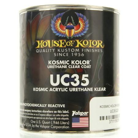 1 QUART KOSMIC ACRYLIC URETHANE KLEAR House of Kolor HOK UC35 Topcoat