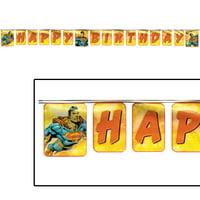 Superman Happy Birthday Banner (1ct)