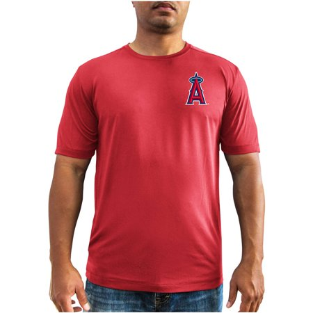 Anaheim Angels Cap - MLB Anaheim Angels Mike Trout Men's Short Sleeve Tee