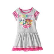 Paw Patrol Toddler Girls' Short Sleeve Drop Waist Dress