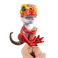 Untamed T-Rex by Fingerlings-Ripsaw (Red) - Interactive Collectible Dinosaur - By WowWee