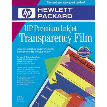 HP Premium InkJet Transparency Film 50 Sheets (C3834A)