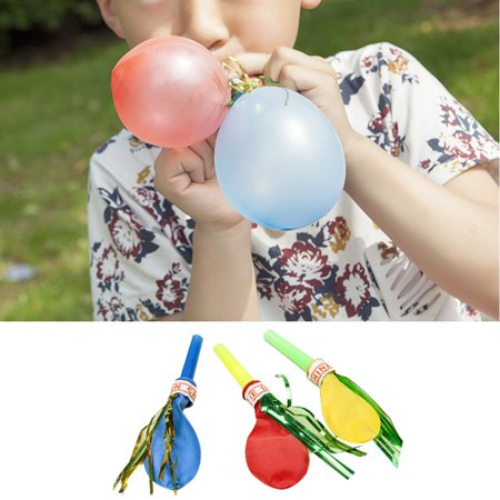 Womail 100 pcs/lot Whistle Balloon Watkins Toys Birthday Party Decorations - Whistling Balloons
