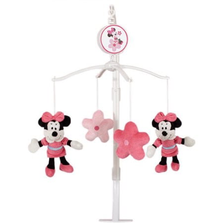 Pink Mobile Mouse (Disney Baby Minnie Mouse Mobile, Pink )