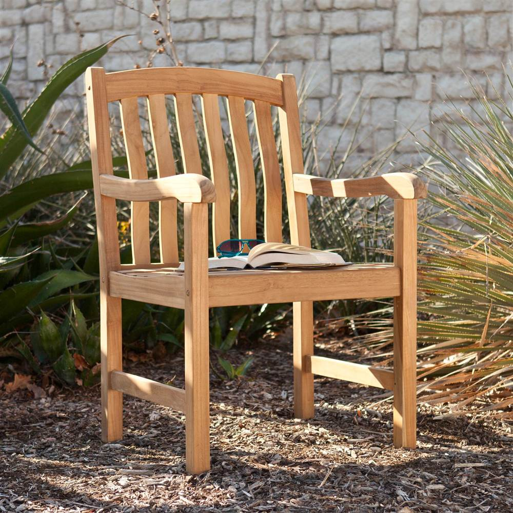 Gentry Teak Arm Chair