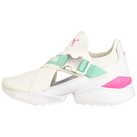 PUMA Puma Womens muse eos Leather Low Top Fashion Sneakers