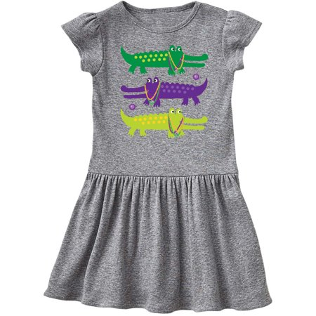 Cheap Mardi Gras Dresses (Mardi Gras Holiday Alligators Toddler)