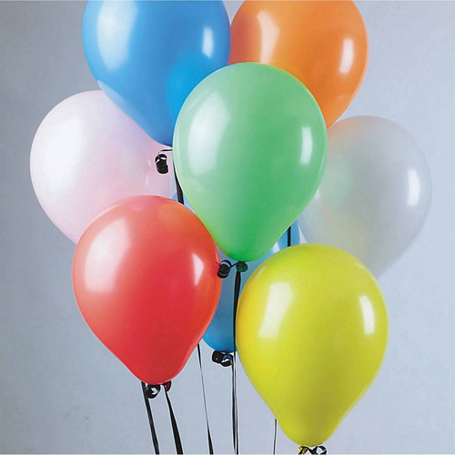 "11"" Standard Color Balloons, Pack of 100"
