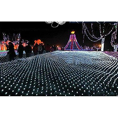 anleolife fairy lights wedding party 672 led net lights 4m x 6m led giant outdoor christmas