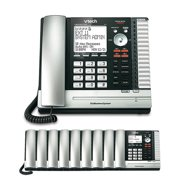 VTech UP416 4-Line Main Console with UP406-9 Extension Cordless Desksets