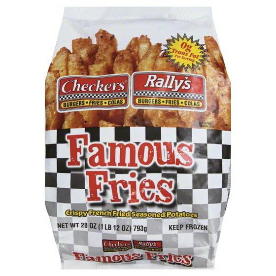 b6e3ba757a222 ConAgra Foods Checkers Rallys Famous Fries