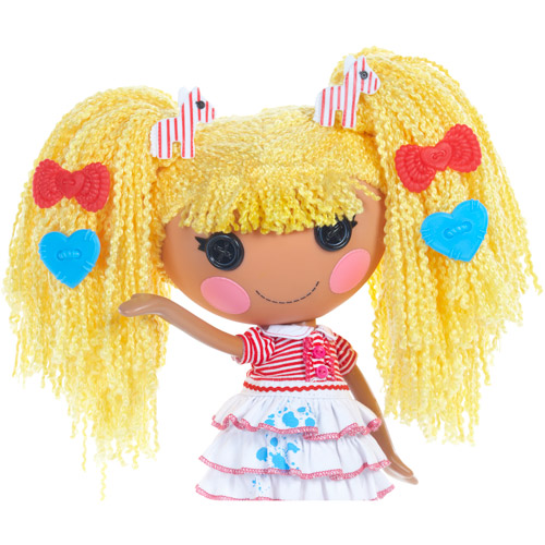 Lalaloopsy Loopy Hair Doll, Spot Splatter Splash