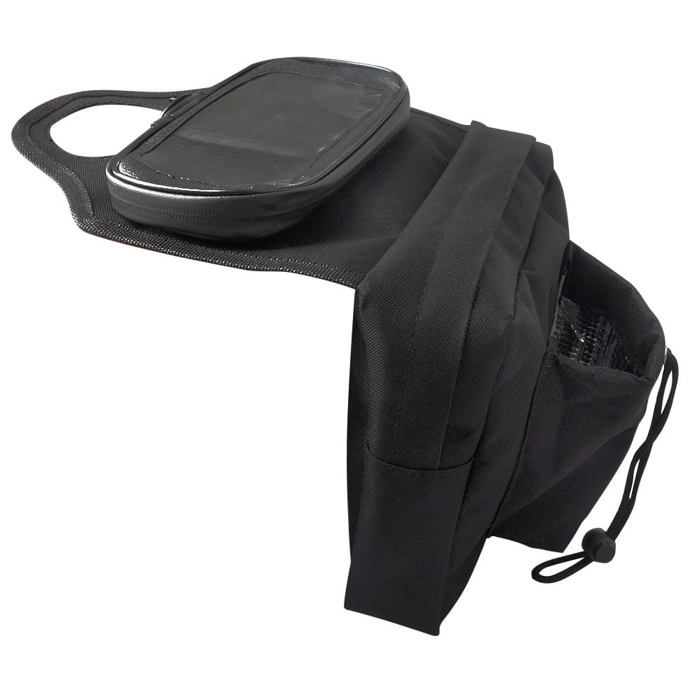 KEMIMOTO Tank Bag Saddle bag Mobile Tank Bag for Honda Kawasaki Ski-doo Snowmobile ATV by